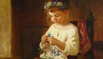Как воспитывали девочек 100 лет назад: что умел делать 10-летний ребенок