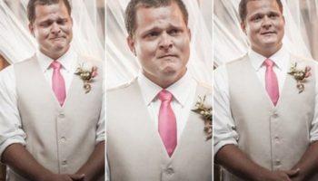Эмоции женихов на свадьбе: видео не оставляет места для стереотипов